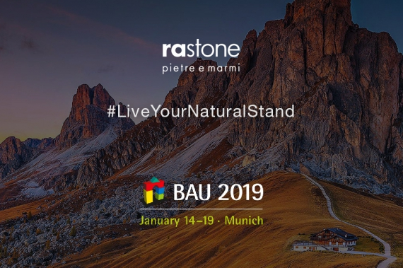 The prestigious return of RASTONE at BAU 2019